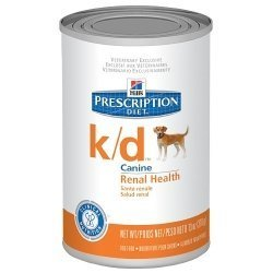Kidney Food Diet Canine (Hill's Prescription Diet k/d Canine Renal Health with Chicken & Vegetable Stew Canned Dog Food)