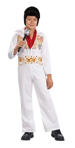 Elvis Child's Costume, Medium (White Elvis Costume)