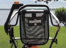Groundskeeper Econo Trash and Debris Bag Fits Mid-size Walk Behind Mowers