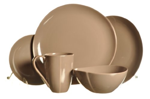 Taupe 5 Piece Place Setting - 6