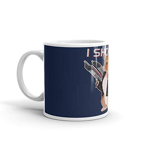 Space Hamster Mass Effect 11 Oz Ceramic