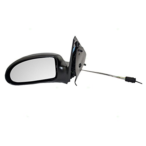 Drivers Manual Remote Side View Mirror Textured Replacement for Ford 6S4Z17683AA AutoAndArt Driver Side Manual Remote