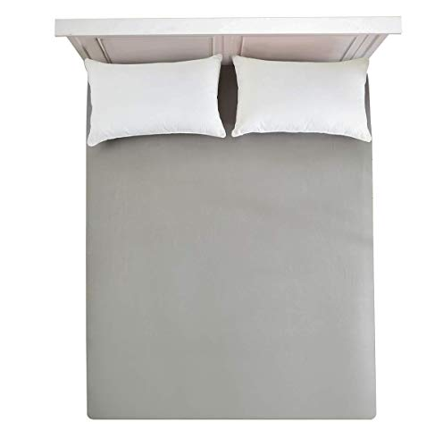 - Fitted Sheet Full -Fitted Bed Sheet 100% Brushed Microfiber 16