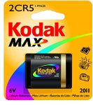 Kodak MAX KL2CR5-1 Lithium Photo Battery from Kodak