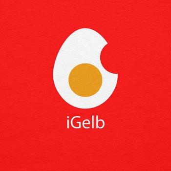 TEXLAB - iGelb - Damen Kapuzenpullover, Größe L, rot