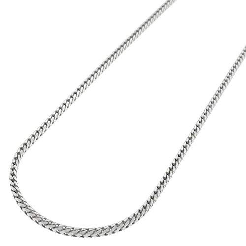 (Sterling Silver Italian 1.5mm Solid Franco Square Box Link 925 Rhodium Necklace Chain 16