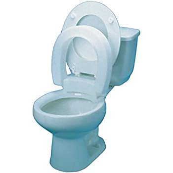 Amazon Com Alimed 80595 Hinged Elevated Toilet Seat