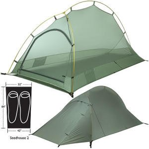 Big Agnes Seedhouse SL2 Super Light Tent: 2-Person 3-Season