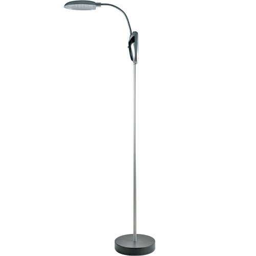 Trademark Home 824894 Cordless Portable Battery-Operated LED Floor Lamp