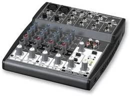 Behringer Xenyx 802 - Mezclador para DJ, color negro: Amazon.es ...