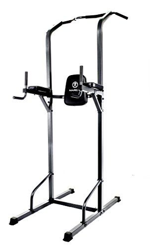 Marcy Power Tower Multi-Grip Pull Up & Dip Station VKR Home Gym TC-3515 Review