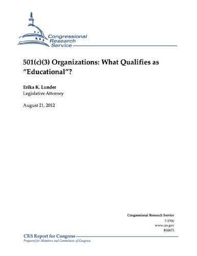 501(c)(3) Organizations: What Qualifies as - Service Tax Erika's