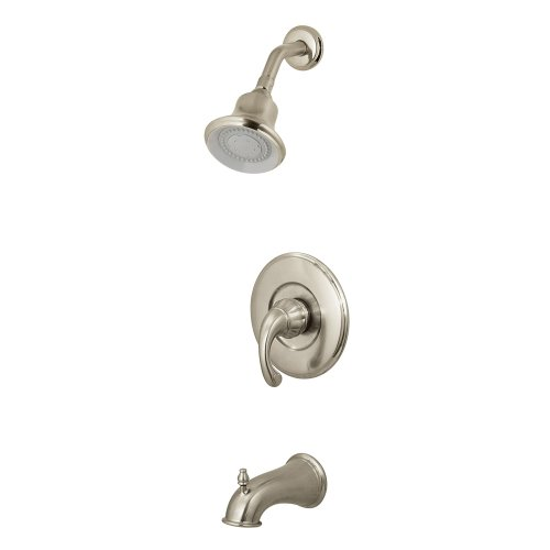 Pfister Treviso 1-Handle Tub & Shower Faucet in Brushed Nickel - Treviso Shower Faucet