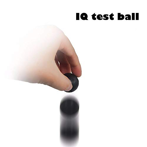 Hisoul Magic Show Set Toy Bounce/No Bounce Balls - So Many Routines are Possible with The Balls - Funny and Magical (Black)