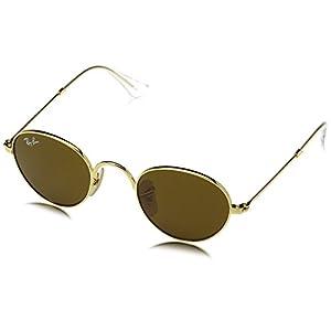 Ray-Ban Kids' Metal Junior Round Sunglasses, Gold 223/3, 40 mm