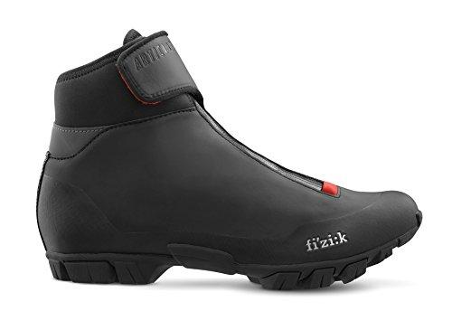 Fizik Artica X5 Winter MTB Schuhe Herren schwarz Schuhgröße 46 2018 Spinning-Schuhe MTB-Shhuhe