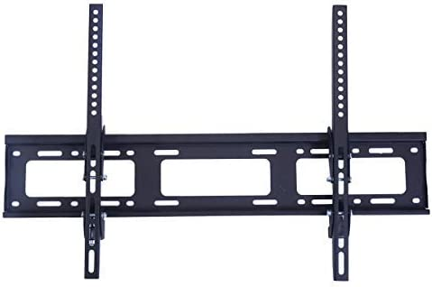 GOFLAME TV Bracket Wall Mounted, Tilt TV Bracket for 32-70 Inch LCD LED Plasma Flat Screen TV, VESA Patterns up to 700 x 450mm and Loading Capacity 110 lbs Black