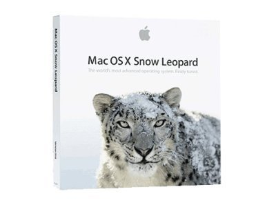 Mac OS X Snow Leopard 10.6.3 DVD-ROM Full Version In Retail Box