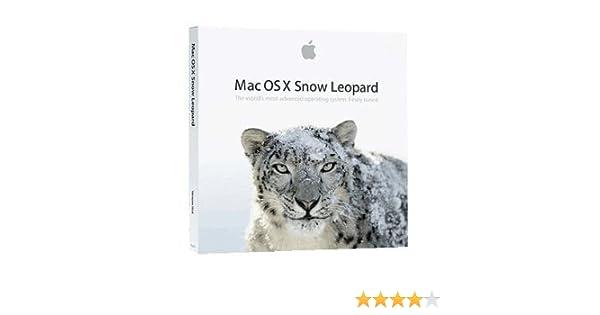 Mac OS X Snow Leopard DVD-ROM Full Version In Retail Box