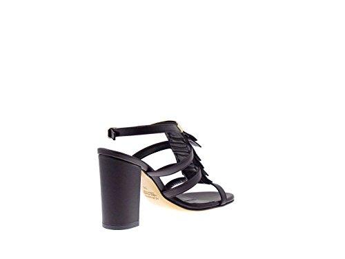 ALBANO de vestir mujer para negro Sandalias 6r5xAq7Un6