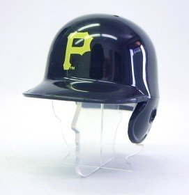Replica Mlb Mini - Riddell MLB Pittsburgh Pirates Helmet Pocket Pro, One Size, Team Color