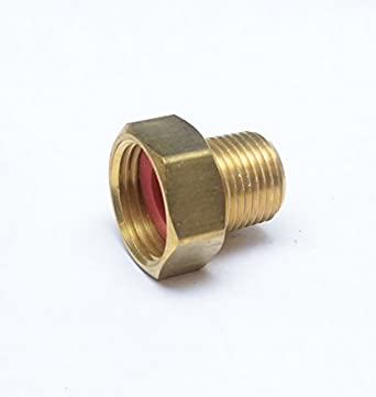 FASPARTS 1/2u0026quot; Male NPT MPT MIP To 3/4u0026quot; Female GHT