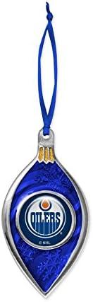 Hunter NHL Edmonton Oilers Sparkle Ornament