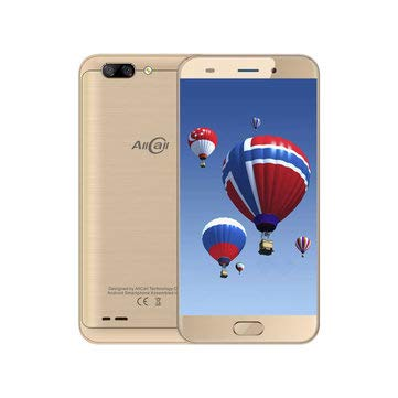 5.2-Inch Android 7.0 Dual Rear Cameras 2GB RAM 16GB ROM MT6737 1.3GHz 4G Smartphone -Mobile Phones & Accessories Smartphones - (Gold) - 1x Alightstone Car CD Slot Magnetic Phone Holder]()