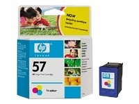 HP No. 57 Color Ink Cartridge C6657A (57 Hp Ink Cartridge)