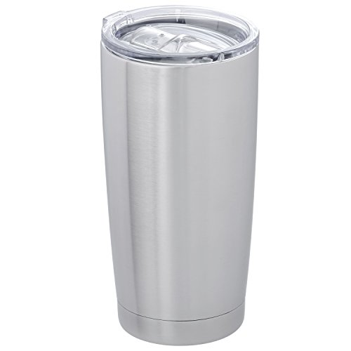 Thirsty Rhino Truk, 20 oz Stainless Steel Tumbler with Splas