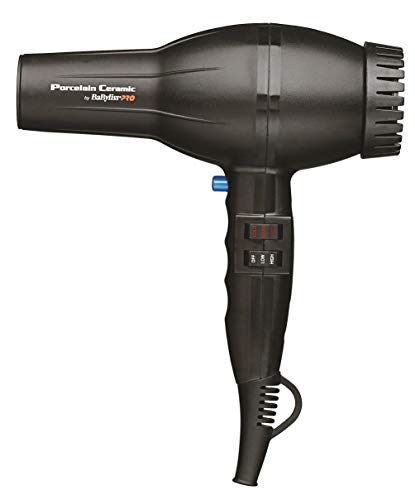 BaBylissPRO Porcelain Ceramic 2800 Dryer, Black