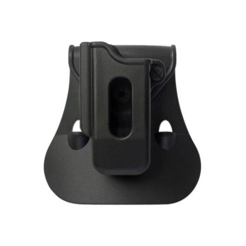 IMI Defense ZSP08 Einzelmagazintasche verstellbar drehbar drehung Single Magazine Polymer Pouch für GLOCK 17/19/22/23/25/26/27/31/32/33/34/35/37/38/39, BERETTA PX4 STORM, H&K P30, H&K USP COMPACT/ FS