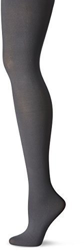 Price comparison product image No Nonsense Women's Opaque Sheer To Waist Tight,  Cobblestone,  X-Large