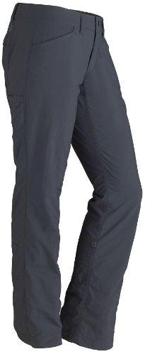 Marmot - Pantalones de senderismo para mujer Gris Oscuro (dark steel)
