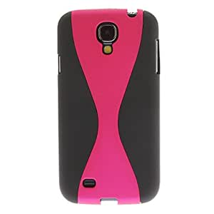 JOE Wineglass Shape Pattern Hard Case for Samsung Galaxy S4 I9500 (Assorted Colors) , Pink