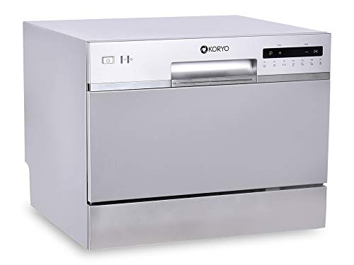 Koryo 6 Place Settings Table Top Dishwasher (KDW636DS, Grey)