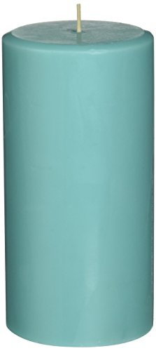 Aqua Candle - Northern Lights Candles Watercress & Mint Fragrance Palette Pillar Candle, 3 x 6