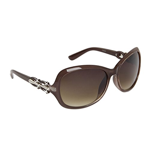 Mirozi Womans 54mm Oversized Rhinestone Sunglasses, Black, Brown, Purple, Red, White stylish color options - Are 2015 Big Style Glasses In