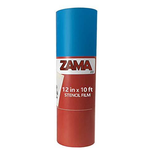 (ZaMa Stencil Film Kit: 10ft Stencil Film Roll (12