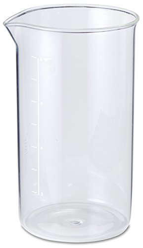 8 Cup Replacement Carafe - Aerolatte Universal Borosilicate Glass Replacement Carafe For French Press Coffee Maker, 8-Cup, 34-Ounce Capacity (34 oz, 1000 ml)