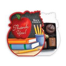 See's Candies 4 oz. Teacher Appreciation Box