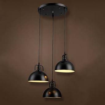 industrial nautical style single mini 3 lights pendant. Black Bedroom Furniture Sets. Home Design Ideas