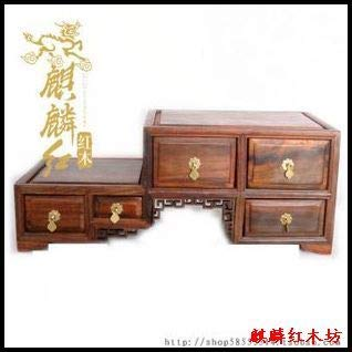 (ZAMTAC Kylin Rosewood Mahogany Crafts Level TV Cabinet Imitation of Ming and Qing Dynasty Classical Miniature Miniature Furniture Model)