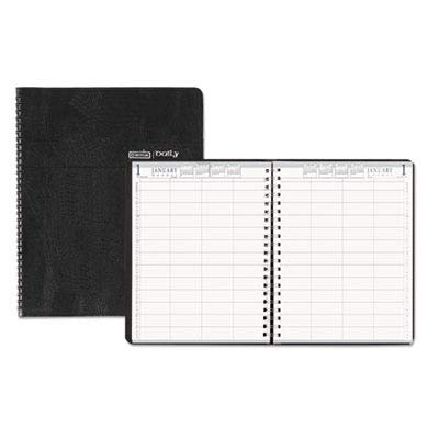 House of Doolittle 2019 Daily Group Planner, 8-Person, Black Soft Cover, 8.5 x 11 Inches, January - December (HOD28102-19)