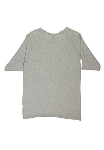 Boom Bap Sweater FUCKOFF SWEAT S/S MSS0020 mixed grey Grau-XS