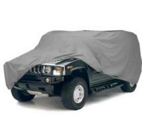 Wholesale Car Covers Economy Hummer Cover for Standard H2 w/ Spare Tire-by-Wholesale-Car-Covers (Hummer Car Cover)