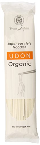 Organic Udon Noodles - Muso From Japan Organic Japanese Noodles, Udon, 8.8 Ounce