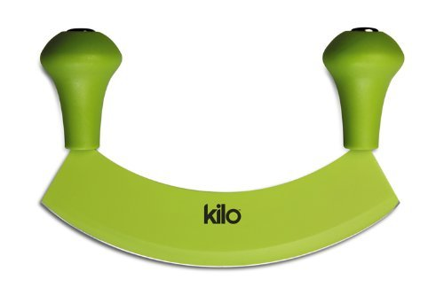 Kilo Rocking Herb Chopper Hachoir with Non-Stick Blade, green by KILO (Image #1)