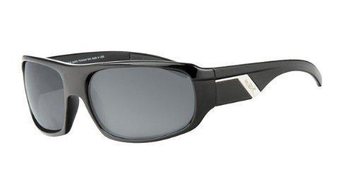 revex polarizadas deportivo Hombre Gafas de sol Sport Biker Cilindro de gafas con bolsa negro talla