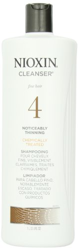 Chemically Treated Hair Shampoo (Nioxin System 4 Cleanser for Fine Chemically Treated Hair, 33.8 Ounce)